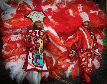 nl be red mardi gras indians