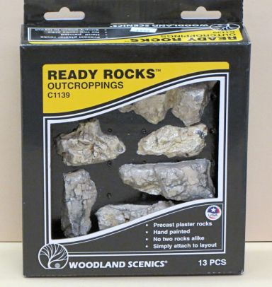 woodland scenics ready rocks