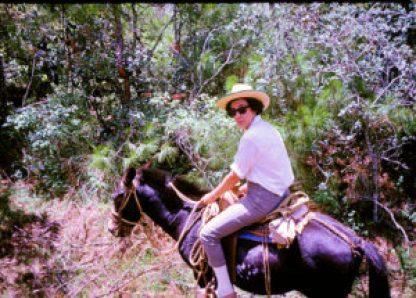 HUB ROOTS ATR Joyce on burro