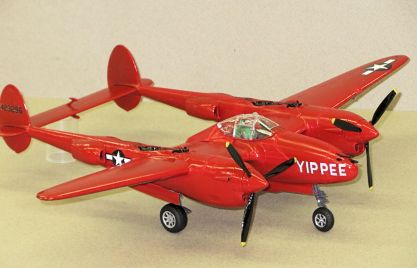Revell P38J Yippee
