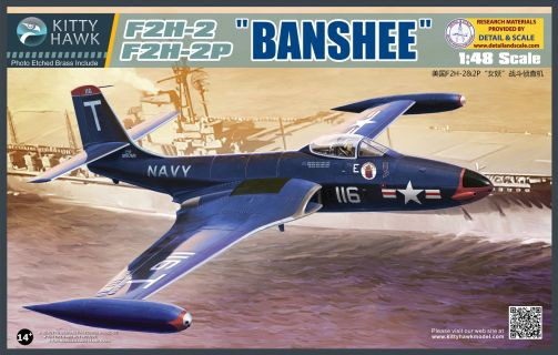 Kitty Hawk F2H-2/2P Banshee