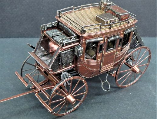 Metal Earth Stage Coach