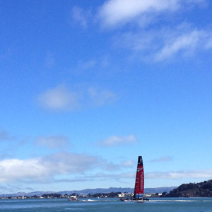 Training for the America's Cup