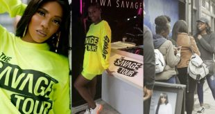 Tiwa Savage launches pop up shop in London