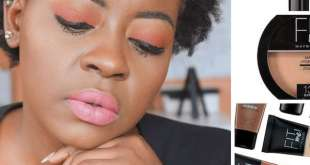 First impression and review Maybelline NY fit me collection by Deola Adebiyi