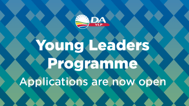 Photo of Democratic Alliance Young Leaders Programme 2022 for Young South Africans