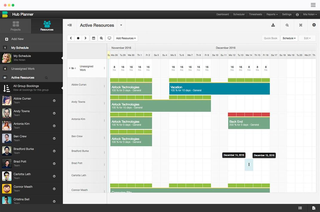 calendar for scheduling