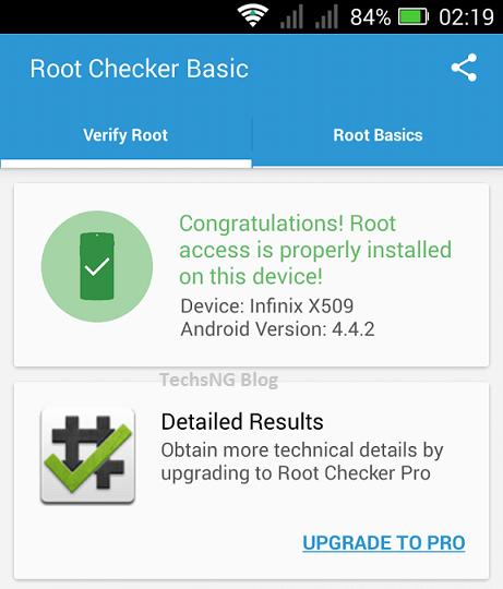 check root on infinix zero 2 x509