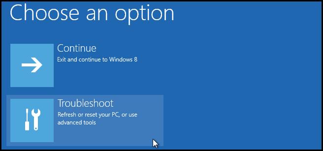 troubleshoot computer running windows 8.1 or 10