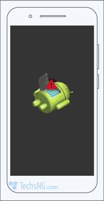 android logo with question mark