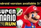 Super Mario run android game