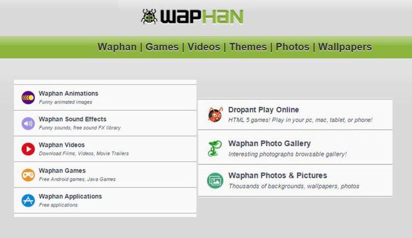 waphan download free games, mp3 music, videos