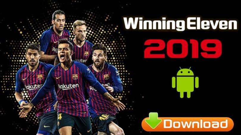 Download winning eleven 2019 WE 19 APK Mod