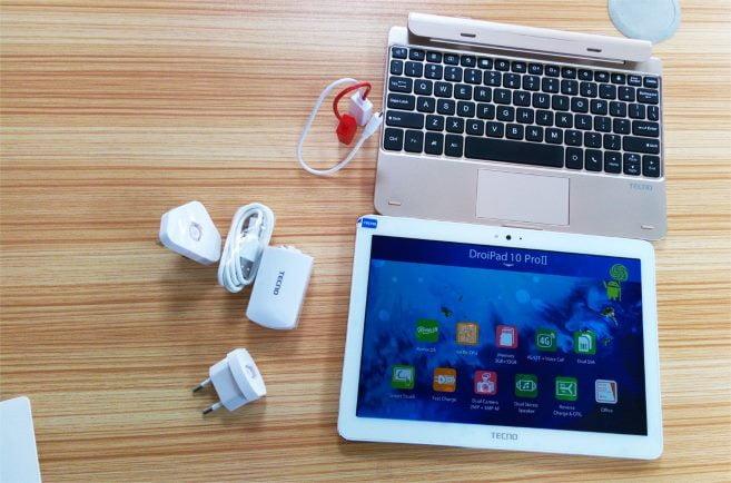 Tecno DroiPad 10D tablet for teacher