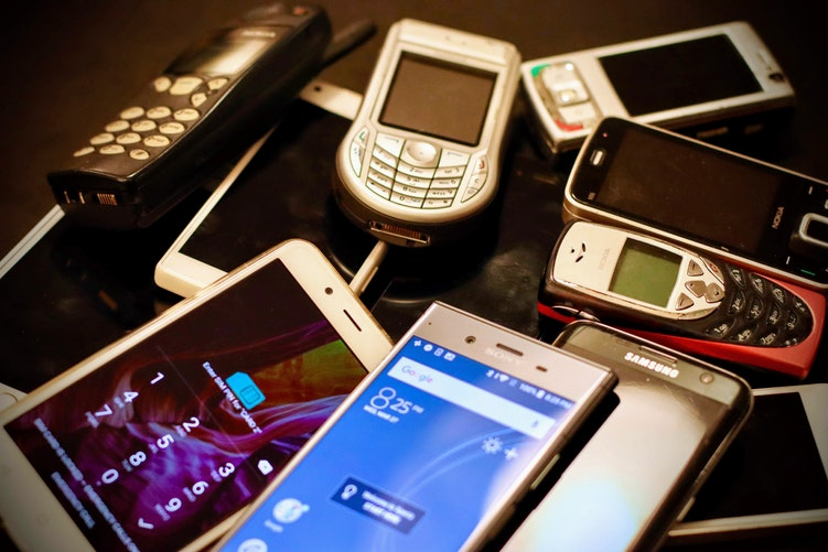 mobile phones can be recycled