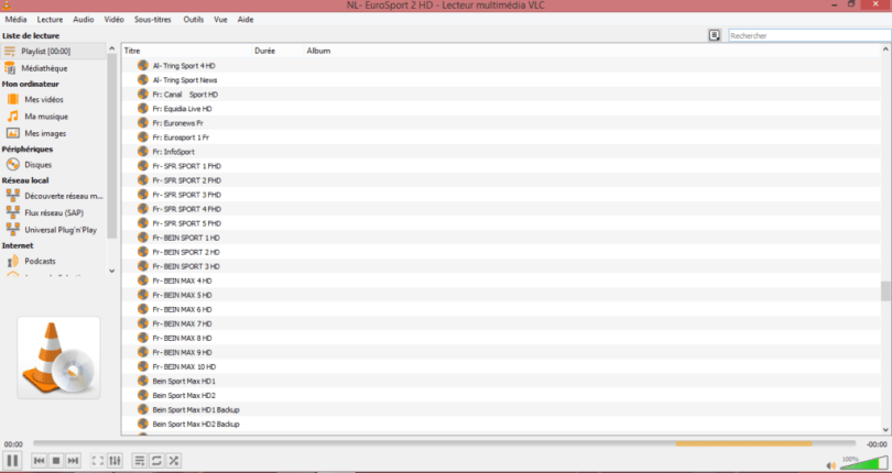 VLC Media Player IPTV for Windows