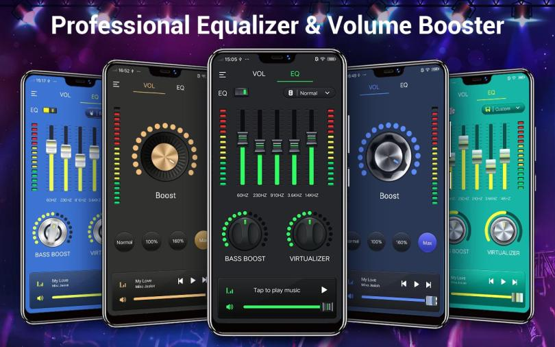 Music Volume EQ And Bass Booster Equalizer App For android