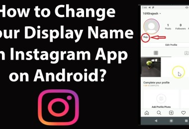 How To Change Your Instagram Username And Display Name