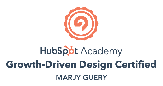 Growth-Driven Design Certificate