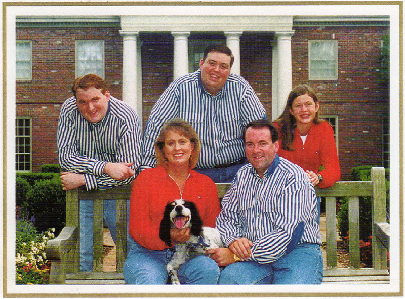 big Mike Huckabee family