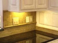 Pics For > Tumbled Travertine Tile Backsplash