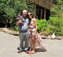Katina and step dad Jim