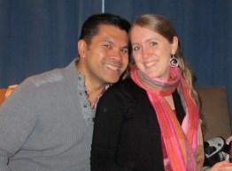 Kira and Carlos this Christmas