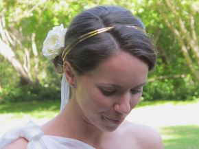 beautiful bride Katina