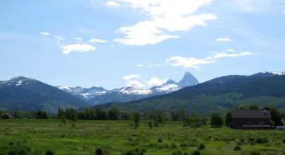 Morning view from Driggs Idaho