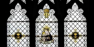 Alexander Gascoigne post WW1 Lady Chapel east window.