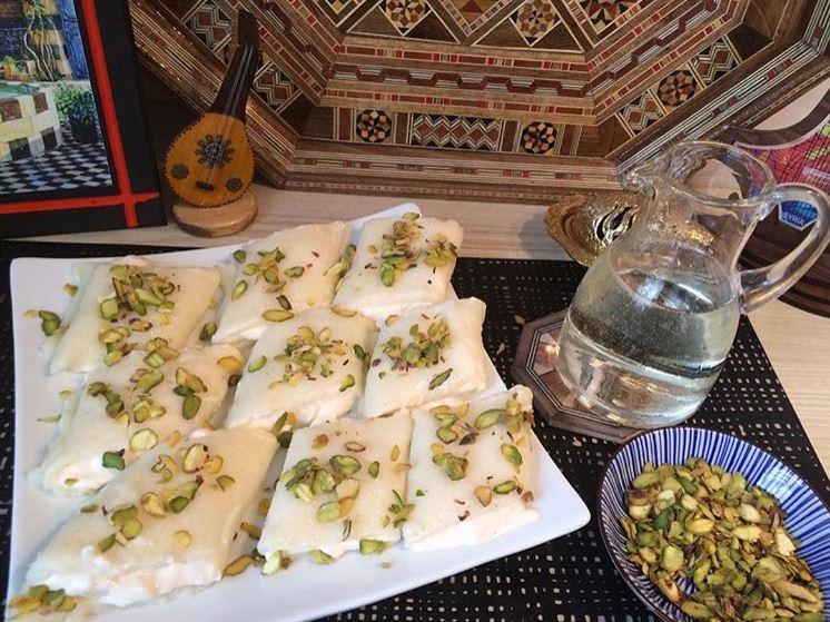 Rezept für Halawet el Jibn – Süße Mozzarella-Röllchen