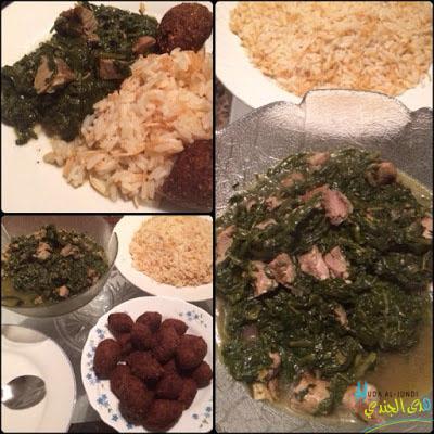 Sabanekh – Syrischer Spinateintopf mit Lammfleisch
