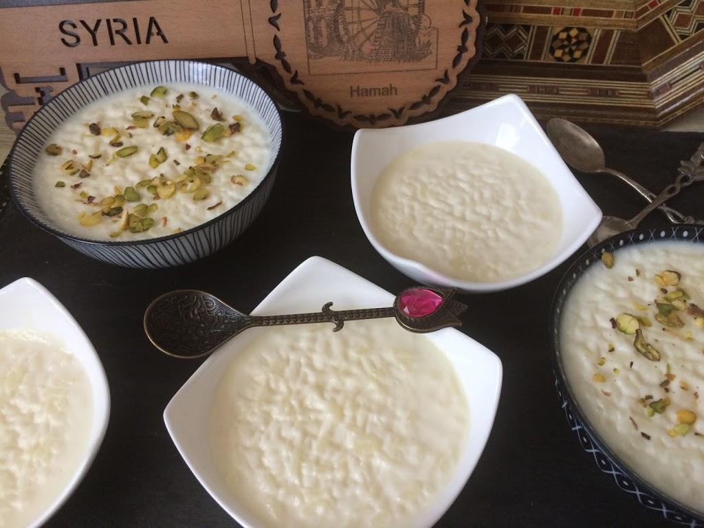 Riz bi Halib – Syrischer Milchreis