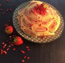 Kuchen trifft Orient- Erdbere