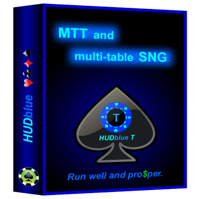 HUDblue T, MTT HUD, box illustration.