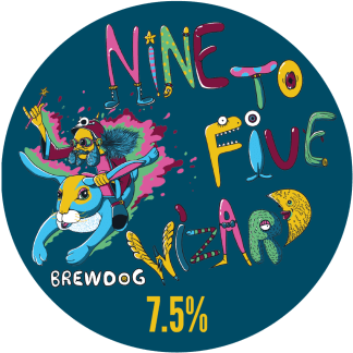 BrewDog NINE TO FIVE WIZARD 20L hordó