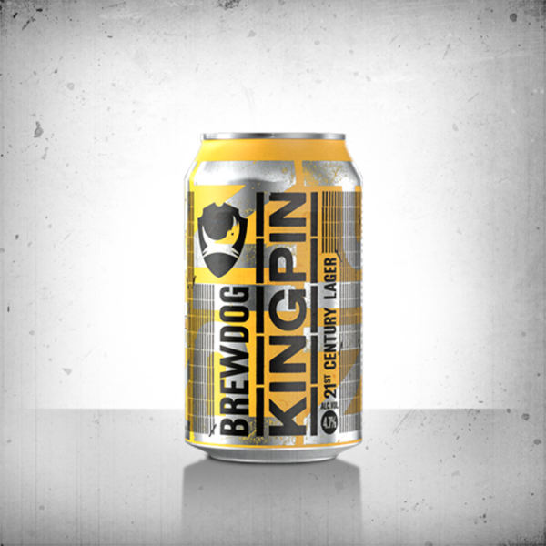 BrewDog KINGPIN 4.7% 1x330ml dobozos