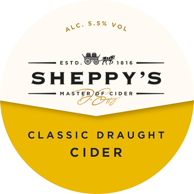 Sheppy's CLASSIC DRAUGHT Cider