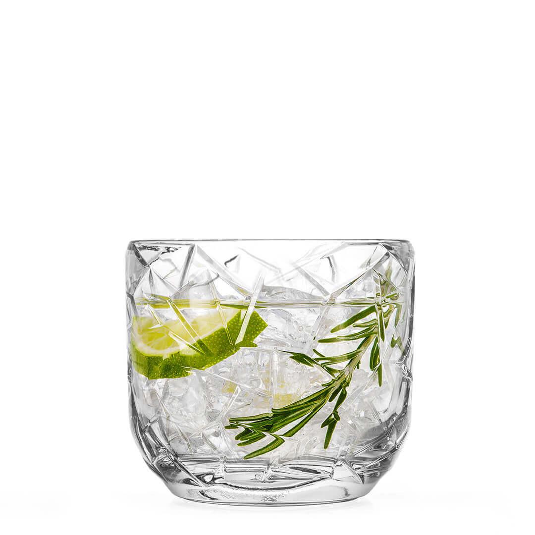 Kozarec tumbler za Gin in Gin Tonic Polaris steklarna Hrastnik