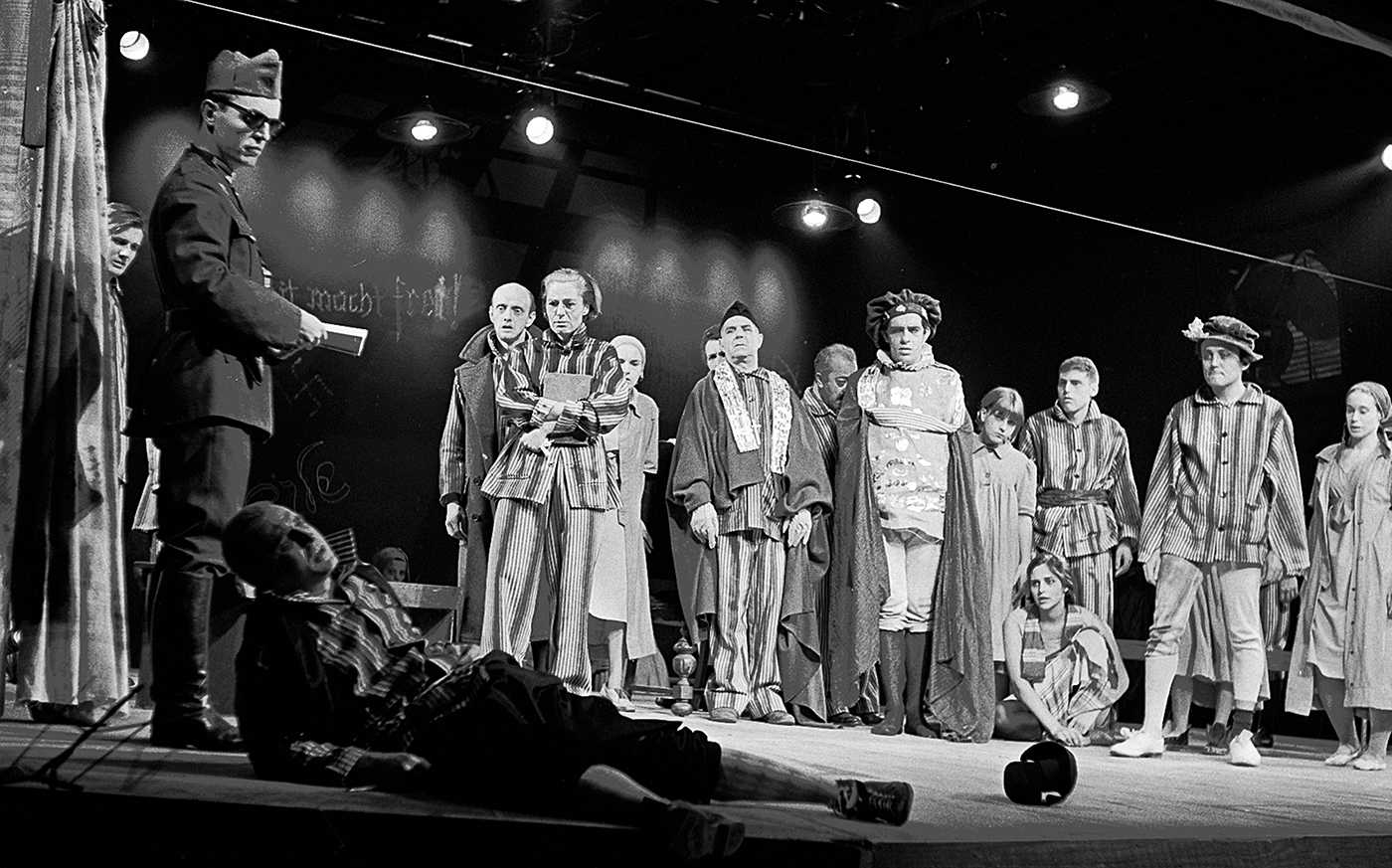 Stockbridge: Summer 1966, A memoir of the Berkshire Theatre Festival's inaugural season — Episode II (of 3): George Tabori's Production of The Merchant of Venice, set in a Nazi concentration camp