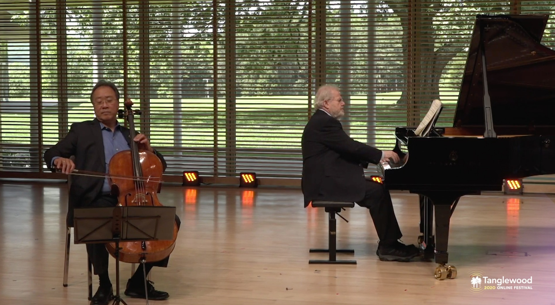 Tanglewood Stream Fishing 2020 Part 2: Yo-Yo Ma and Emanuel Ax Play Brahms, Beethoven, Mendelssohn