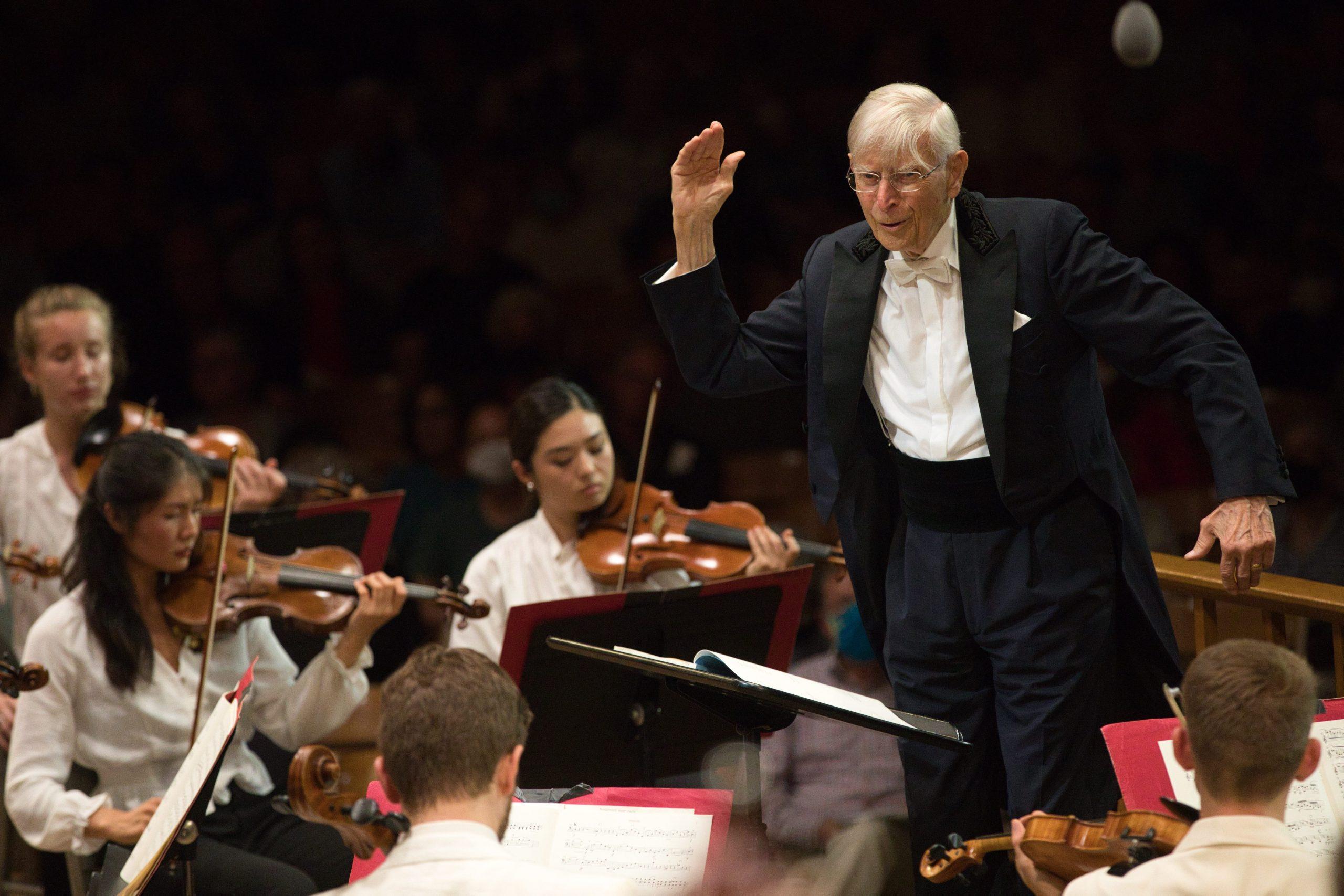 Blomstedt Flourishes at Tanglewood: Mendelssohn, Mozart, Brahms