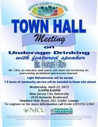 meeting flyer town hall events coalition hudson county