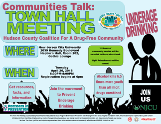 Town Hall Meeting April 26th Hudson County Coalition