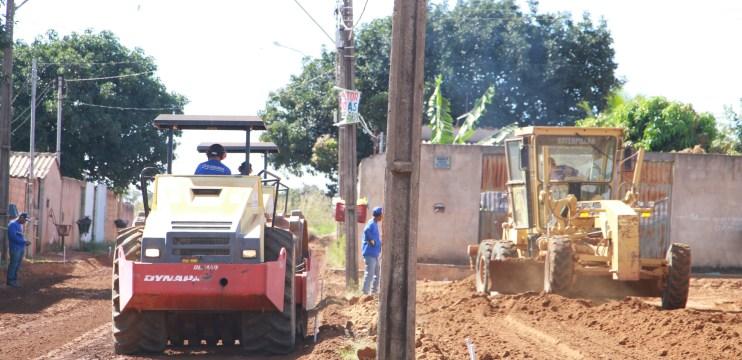 Prefeitura de Águas Lindas de Goiás executa obras no Jardim Alterosa