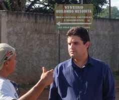 Weslei Garcia pré-candidato ao governo do estado visita a Comunidade Quilombola Mesquita