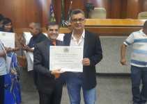 Bueno Hernany recebe Diploma de Honra ao Mérito da Câmara de Goiânia