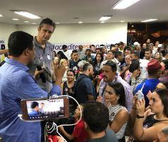 Risomar Carvalho inaugura comitê central em Samambaia/DF