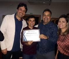 Em Brasília, Bueno Hernany recebe Prêmio Destaque ABBP 2018