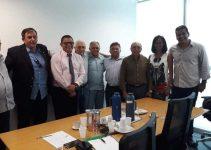 Em Brasília, Hermeto recebe representantes das Associações da Polícia Militar e Corpo de Bombeiros